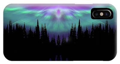 Angels Watching Over You IPhone Case