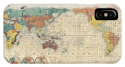 Old World Vintage Cartographic Maps Phone Cases