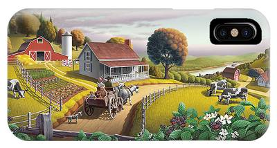 Country Life Phone Cases