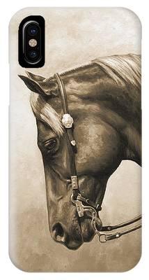 Horseback iPhone Cases