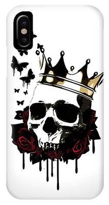 Death Digital Art iPhone Cases