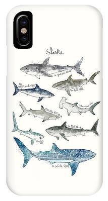 Reef Shark Phone Cases