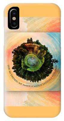 In Dreams A World Entirely Our Own Orb IPhone Case
