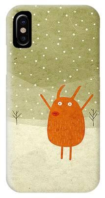 Winter Digital Art iPhone Cases