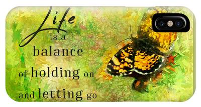 Life Is A Balance IPhone Case