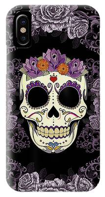 Purple Flower Phone Cases