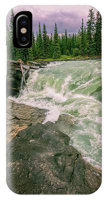 Athabasca Falls Phone Cases