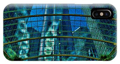 Atrium Gm Building Detroit IPhone Case