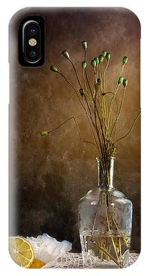 Antique Flowers Vase Phone Cases