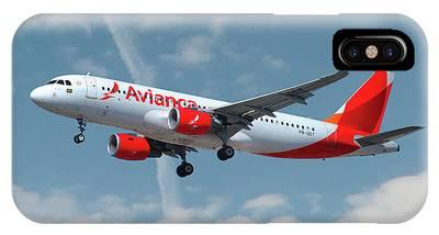Airbus A320-214 Phone Cases