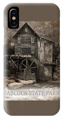 Grist Mill Mixed Media iPhone Cases