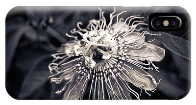 Clematis Flower Bloom IPhone Case