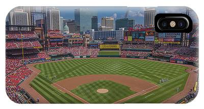 Ballpark Village Cardinal Nation Busch Stadum St. Louis Cardinals April 2015 #2 IPhone Case