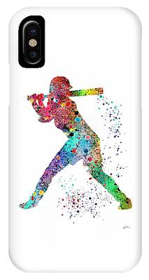 Softball Phone Cases