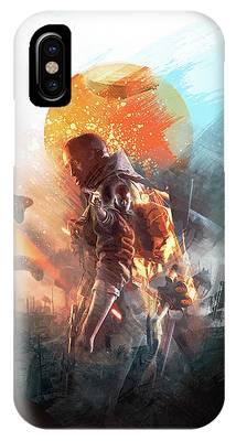 Battlefield Poster IPhone Case