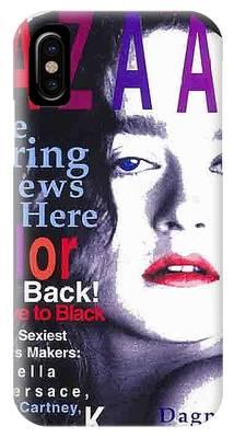 Bazaar Magazine Cover IPhone Case