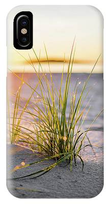 IPhone Case featuring the photograph Beach Grass by Brad Wenskoski