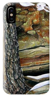 Between A Rock And A Hard Place IPhone Case