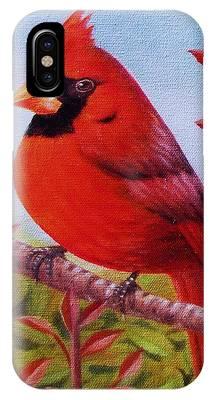 Big Red IPhone Case