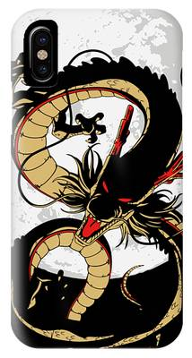 Shenron iPhone Cases