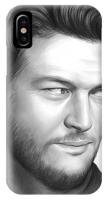 Blake Shelton IPhone Case