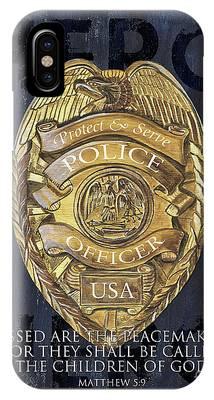 Police Officer iPhone Cases