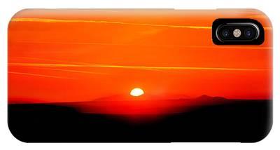 Setting Sun Phone Cases