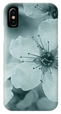 Blue Blossoms IPhone Case by Patricia Strand