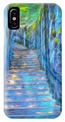 Blue Dream Stairway IPhone Case