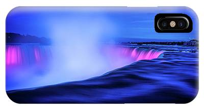 IPhone Case featuring the photograph Blue Hour At Niagara Falls by Kevin McClish
