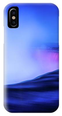 Blue Hour At Niagara Falls IPhone Case by Kevin McClish