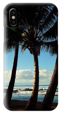 Blue Palms IPhone Case