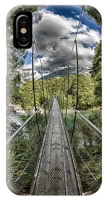 Blue Pools Bridge IPhone Case by Chris Cousins