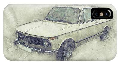 Automotive Art Series Phone Cases