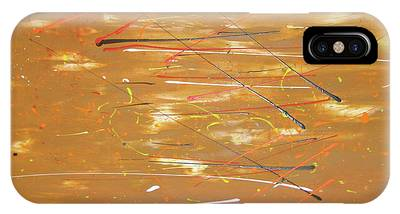 IPhone Case featuring the painting Born Again by Michael Lucarelli