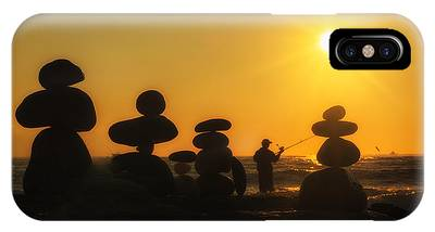 Boulders By The Sea IPhone Case