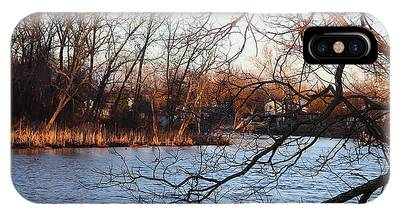 Branches Over Water IPhone Case