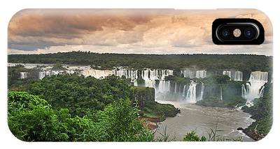 IPhone Case featuring the photograph Brazil,iguazu Falls,spectacular View by Juergen Held