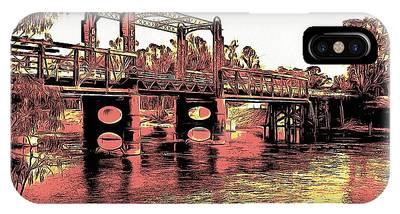 Bridge Over Murray River IPhone Case