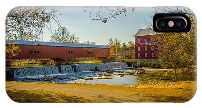Bridgeton Mill Covered Bridge IPhone Case