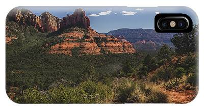 IPhone Case featuring the photograph Brins Mesa Trail Vista by Andy Konieczny