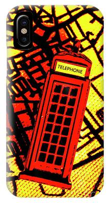 London Phone Booth Phone Cases