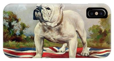 English Bulldog IPhone X Cases