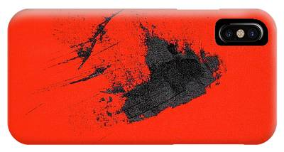 IPhone Case featuring the painting Broken Heart by Michael Lucarelli