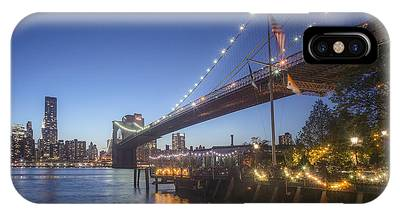 IPhone Case featuring the photograph Brooklyn Brdige New York  by Juergen Held
