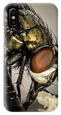 IPhone Case featuring the photograph Bug On A Bug by Chris Cousins