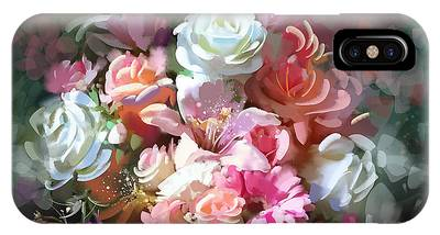 Bunch Of Roses IPhone Case