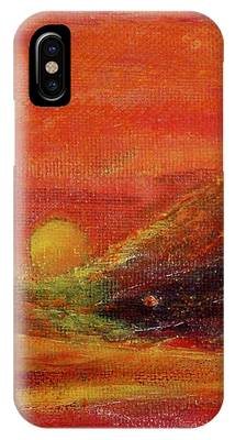 Burn IPhone Case by Kim Nelson
