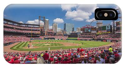 Busch Stadium St. Louis Cardinals Cardinal Nation Ballpark Village Day #2a IPhone Case