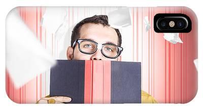 Ledger Books Phone Cases